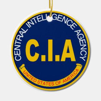 Maqueta del logotipo de la Cia Adorno Navideño Redondo De Cerámica