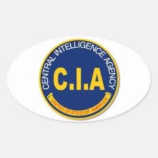 Maqueta del logotipo de la Cia Pegatina Ovalada