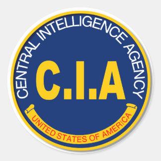 Maqueta del logotipo de la Cia Pegatina Redonda