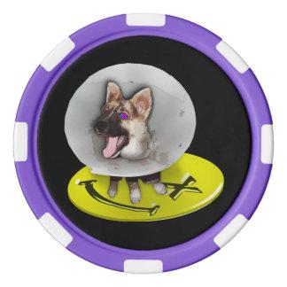 Máquina borrosa de la muerte - fichas de póker
