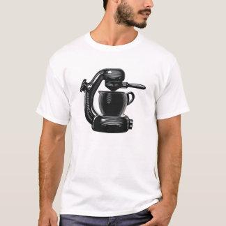 Máquina de café express atómica camiseta