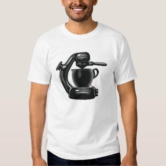 Máquina de café express atómica camisetas