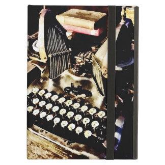 Máquina de escribir antigua Oliverio #9 Funda Para iPad Air