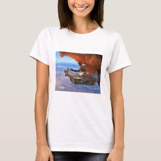 Máquina de vuelo de Steampunk Camiseta