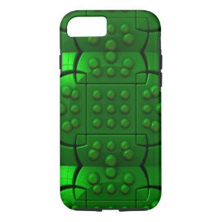 Máquina verde funda iPhone 7