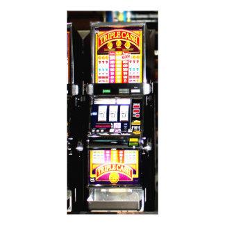 Máquinas ideales de las ranuras de Las Vegas Lona Personalizada
