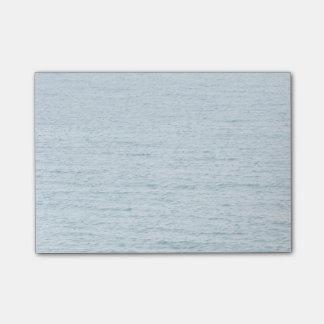 Mar azul tranquilo notas post-it®