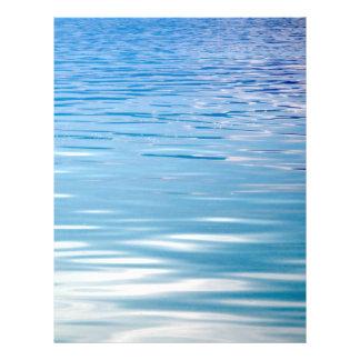 Mar del fondo de la tranquilidad folleto 21,6 x 28 cm