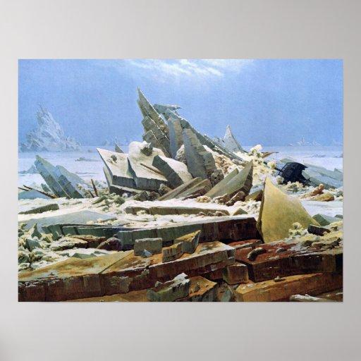 Mar del hielo - Das Eismeer - La Mer de Glaces Poster