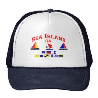 Mar Island-GA. Gorras