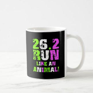 Maratón divertido 26 2 taza