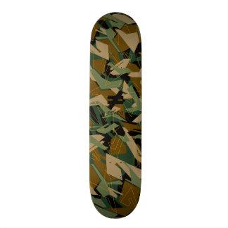 Marca 1 Skatedeck de Esvoir Camo Monopatín Personalizado