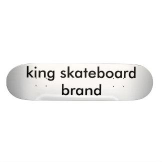 marca del monopatín del rey