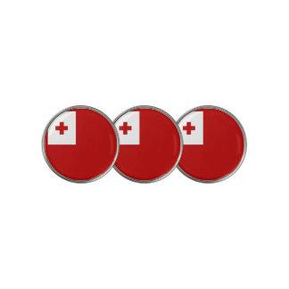 Marcador Para Pelotas De Golf Bandera de Tonga