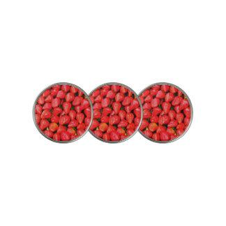 Marcador Para Pelotas De Golf ¡Muchas fresas!