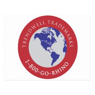 Marcas registradas de Trendwell Tarjetas Postales