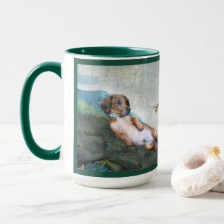 Marcelo la creación del perro taza del arte de 15