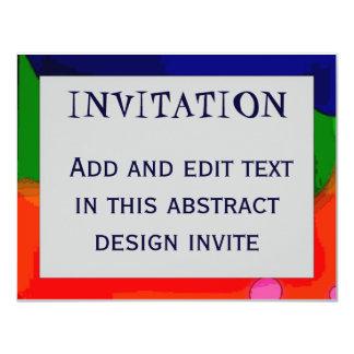 Marco abstracto 4, INVITACIÓN,