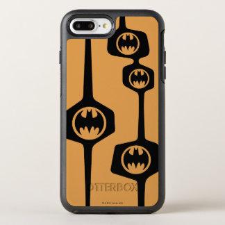 Marco anaranjado negro de Batman Funda OtterBox Symmetry Para iPhone 8 Plus/7 Plus