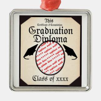 Marco de la foto del diploma de la graduación ornamento para reyes magos