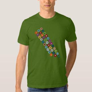 Marco de la insignia al mérito camisetas