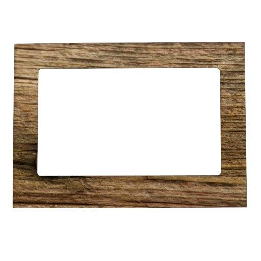 Marco de madera del falso granero marcos magneticos