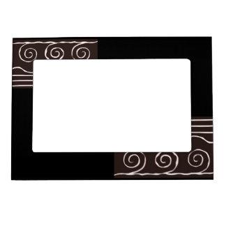 Marco magnético blanco y negro