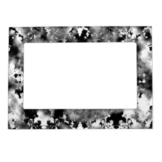 Marco magnético de los puntos blancos y negros