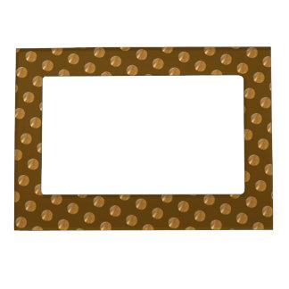 Marco Para Fotos Magnético Puntos de oro de la polca