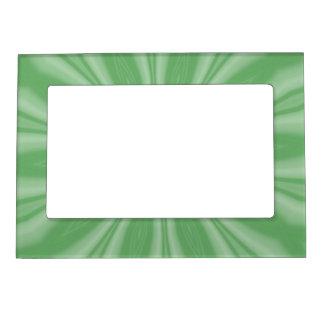 Marco Para Fotos Magnético Rayas verdes