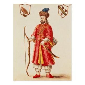 Marco Polo se vistió en traje del tártaro Postal