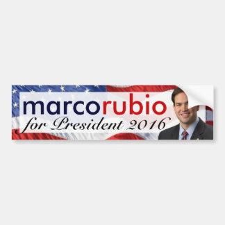 Marco Rubio 2016 Pegatina Para Coche