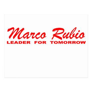 Marco Rubio: Líder para mañana Postal