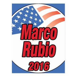 Marco Rubio para el presidente en 2016 Postal
