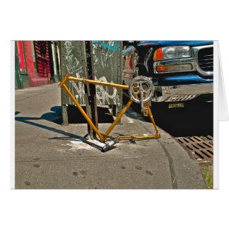 Marco-SOHO NYC de la bicicleta Tarjeta De Felicitación