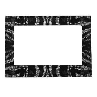Marco superior del imán del modelo abstracto de marcos magneticos para fotos