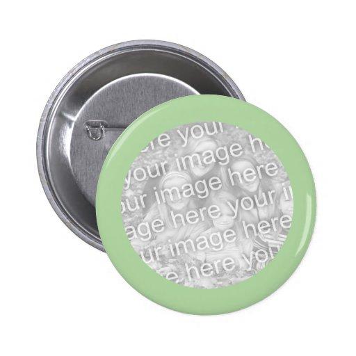 marco verde simple de la foto pin