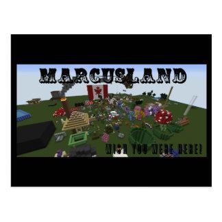 ¡Marcusland! Postal