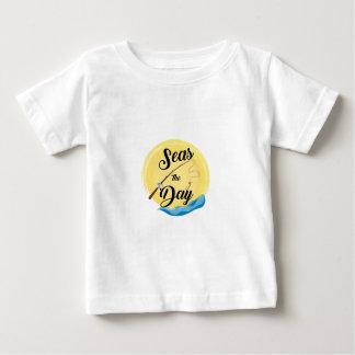 Mares el día camiseta de bebé