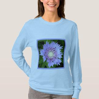 Margarita azul del aster camiseta