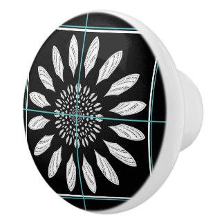 Margarita capítulo pomo de cerámica