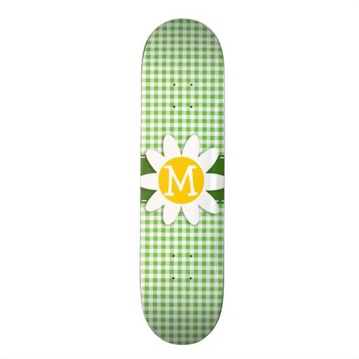 Margarita de la primavera; A cuadros verde; Guinga Tablas De Patinar