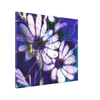 Margarita eléctrica impresión en lienzo