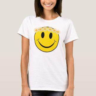Margarita feliz del Hippie Camiseta