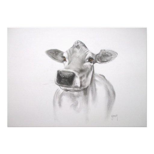 Margarita la invitación de la vaca