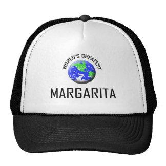 Margarita más grande del mundo gorro