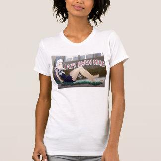 Margarita perezosa Mae Camisetas