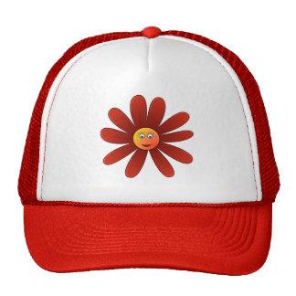 Margarita soñolienta Red Hat Gorras De Camionero