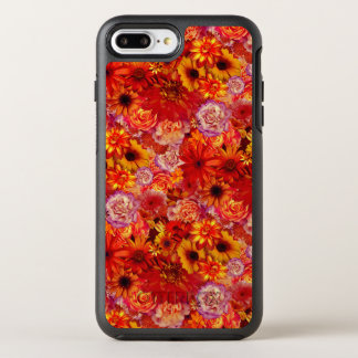 Margaritas candentes ricas del ramo brillante funda OtterBox symmetry para iPhone 7 plus