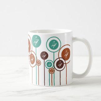 Margaritas de la odontología tazas de café
